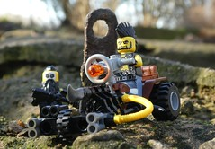 Mad Max Rover (captain_joe) Tags: toy spielzeug 365toyproject lego minifigure minifig moc rover trike motocycle motorrad motobike mad max madmax