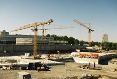 Nya Albano, grunden till hus 3 (Linzen004) Tags: stockholmsuniversitet bygge
