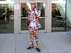 Coat Of Many Colors (Multielvi) Tags: baltimore maryland md comic con convention cosplay man