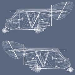 Waterman Aerobile 3D Model Blueprints (ProLithic 3D) Tags: aerobile arrowbile 1937 flying car 1937flyingcar watermanaerobile watermanarrowbile flyingcar aircar 3dmodel download
