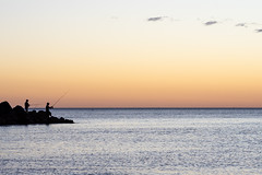 Casting a line (.Stephen..Brennan.) Tags: da70 pentax pentaxk3 seascape sunset perth westernaustralia australia au 70mm
