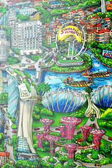 The Enchanted Island of Singapore (2015)   Charles Fazzino (Ping Timeout) Tags: charles fazzino artist enchanted island singapore 2015 limited edition art artwork 250 day night landmark sg50 birthday golden jubilee celebration idependence 9 august majulah singapura serigraph museum dx national ritz carlton hotel marina bay sands casino convention flyer gardens by sea games dragon boat race dome conservatories tanjong rhu rooftop