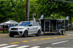 Land Rover Range Rover Sport SVR (Rivitography) Tags: gdy0131 pa landrover rangerover sport svr silver suv rare expensive luxury greenwich connecticut 2018 canon rebel t3 adobe lightroom rivitography