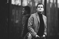 Black Eyes (popz.photographie) Tags: model men nantes city reflect business wear good ootd