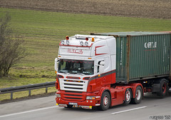 Baca (PL) (Brayoo) Tags: scania v8 customised customized lkw camoin transport truck container brayoophotography brayoo