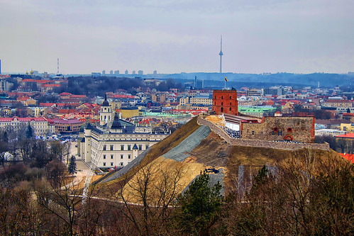 The Tower of Gediminas