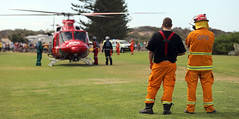 HLO (adelaidefire) Tags: horseshoe bay fleurieu peninsula south australia helicopter bell 412er bell412er port elliot country fire service australian cfs sacfs sa state emergency ses coast surf life saving association slsa ambulance saas medstar mac motor accident commission retrieval vhvas