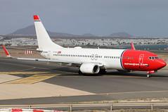 LN-NHG (GH@BHD) Tags: lnnhg boeing 737 738 737800 b737 b738 dy d8 nax ibk norwegianairshuttle norwegianairinternational ace gcrr arrecifeairport lanzarote arrecife aircraft aviation airliner