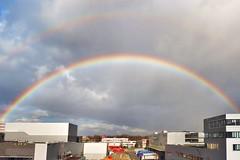 HERMA Bonlanden with double rainbow by Canon PowerShot SX70 HS - CROP 21 mm (eagle1effi) Tags: canonpowershotsx70hs canon powershot sx70hs powershotsx70hs eagle1effi bridgecamera 2019