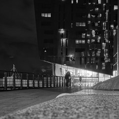 Liverpool love (douglasjarvis995) Tags: abstract sea water evening building architecture night street bnw mono monochrome liverpool