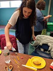 MVIMG_20190314_161013 (Billerica Public Library's Photostream) Tags: billericapubliclibrary youngadultprogram pie day pi table talk 314