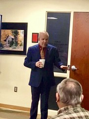 Provide coffee during the meetings...count me in! Thanks to the Clarksville Civil War Roundtable for their hospitality and a great turnout to hear Tom Colley's story! #civilwar (civilwarhistorian) Tags: civilwar