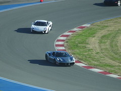 McLaren 570S and Ferrari 488 GTB (dougmartin571) Tags: charlottenc concordnc charlottemotorspeedway airbnb nascar exoticcars stockcars racing 2019 xtremexperience extremeexperience