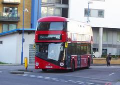 GAL LT301 - LTZ1301 - NSF - DEPTFORD DLR STATION - SUN 24TH MAR 2019 (Bexleybus) Tags: deptford bus station dlr broadway college wrightbus new routemaster nbfl boris borismaster goahead go ahead london tfl route 453 lt301 ltz1301