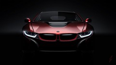 bmw_i8_concept_front_view_98354_1280x720 (andini.dermayu) Tags: car bmw red