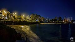 Night Scene (nikhrist) Tags: night scene city sea beach