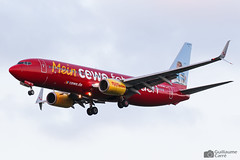 D-ATUH 737 Tuifly (Guillaume Carré) Tags: datuh 737 tuifly spotting clermont ferrand auvergne lflc cfe 2019