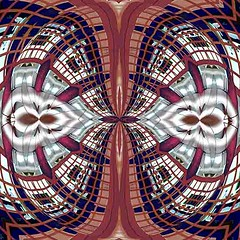 Narrow Passage (Kombizz) Tags: kombizz kaleidoscope experimentalart experimentalphotoart photoart epa samsung samsunggalaxy fx abstract pattern art artwork geometricart manipulation 3a22489 narrowpassage kam040419 patterns ml