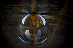 Look into the Crystal Ball (Trigger1980) Tags: trains brighton main line d7000 dark digital day long lights lens nikon nikond7000 nite night grade ii listed building ouse river valley viaduct crystal ball
