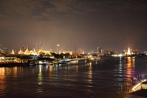 View on the Grand Palace (Bangkok, Thailand 2018)