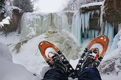 Mountain Master (Bert CR) Tags: faber mountainmaster snow snowandice frozen frozenwaterfall composition winter canon canon40d 40d hiking winterhiking winterwonderland waterfall