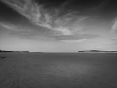 Let the soul happy... (Gerry@RT ~ THANK YOU) Tags: wildatlanticway comayo beach beachscape sky skyscape blackandwhite horizon noir mayotourism countymayo lackenbeach lackenstrand lacken monochrome 25thmay2016