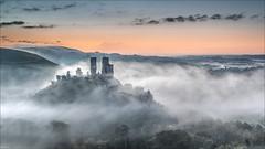 Envelop (Phil Selby) Tags: purbeck autumn corfecastle dorset mist dawn sunrise