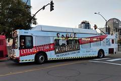 MTS Bus (So Cal Metro) Tags: wrap ad advertising promotion marketing bus2825 2800 newflyer c40lf bus metro transit mts sandiegotransit sandiego downtown eastvillage mythbusters fleetsciencecenter rt929