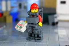 The Pizza Guy (Devid VII) Tags: devidvii moc trooper mecha mech devid vii pizza lego