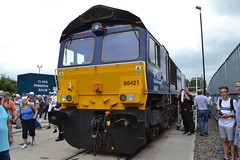 Direct Rail Services 66421 (Will Swain) Tags: crewe gresty bridge depot open day 21st july 2018 drs cheshire north west south county train trains rail railway railways transport travel uk britain vehicle vehicles england english europe direct services 66421 class 66 421
