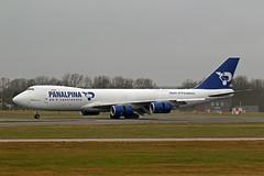 B747-8 (N850GT) Panalpina (Atlas Air Inc (boeing-boy) Tags: mikeling boeingboy b7478 atlasair panalpina n850gt stansted