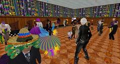 Mardi Gras Party at Swing Moon