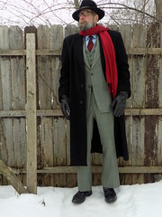 3-3-2019 Today's Clothes (Michael A2012) Tags: this mans winter style vintage fashion charles knox fedora hat cardinal clothes canada cashmere botany 500 regal aire wool mohair fur felt cremieux cotton dobby samco allen edmonds windham