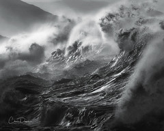 Rough Waters (Chris Davis Photography) Tags: waves storm cornwall ocean violent roughseas