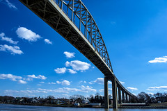 Chesapeake City (StateMaryland) Tags: bridge c o canal river chesapeake clouds sky transportation overpass northern anthony burrows 2019