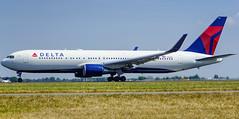 delta N1605 (K.D_aviation) Tags: boeing aviation airport airbus amsterdam finnair skyteam indonesia klm qatar cargo surinam turkish air transat delta airfrance