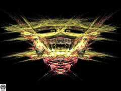118_00-Apo7x-190405-5 (nurax) Tags: fantasia frattali fractals fantasy photoshop mandala maschera mask masque maschere masks masques simmetria simmetrico symétrie symétrique symmetrical symmetry spirale spiral speculare apophysis7x apophysis209 sfondonero blackbackground fondnoir