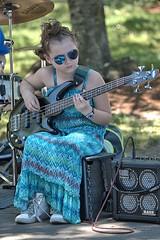 Young Bass Guitarist (Scott 97006) Tags: talent talented girl kid yong guitar bass shades performing