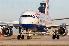 British Airways G-EUOG 9-1-2019 (Enda Burke) Tags: geuog airbusa319 a319 avgeek aviation airplane airport apron canon canon7dmk2 cockpit egcc engine engines england runway ringway travel takeoff taxiing taxiway terminal1 terminal3 controltower vct manchesterairport manchester man manc manairport manchesterrunwayvisitorpark manchestercity mcr britishairways ba
