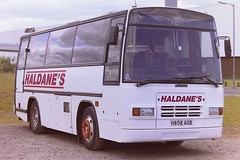 HALDANE'S OF CATHCART H808AGB (bobbyblack51) Tags: haldanes of cathcart h808agb dennis javelin 85sda plaxton paramount irvine 1996