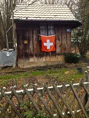 Chez Poulet (Dan Daniels) Tags: gardens gardenhouses chickens poulet mysteries winter chickencoop riehen kantonbaselstadt switzerland schweiz fences snow
