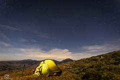 Under the night sky.. (CamraMan.) Tags: hillebergakto nightsky wildcamping cumbria lakedistrict sonya7 canon1740mmlusm benro fotodiox stars ©davidliddle ©camraman carlingknott