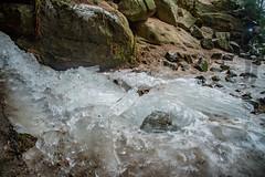 Sandstoneghost (matthias_oberlausitz) Tags: sandstein sachsen saxony sächsische schweiz elbsandsteingebirge eis gautschgrotte grotte höhle winter geist ghost