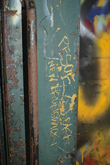 Pesoe (NJphotograffer) Tags: graffiti graff new jersey nj trackside rail railroad abandoned passenger car pesoe void crew scribe