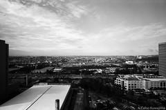 Alphaville, SP (Celso Kuwajima) Tags: cityview landscape 20190243 sky buildings leicasuperangulon13421mm analogphotography leicam4 kodaktmax100 clouds barueri sãopaulo brazil br