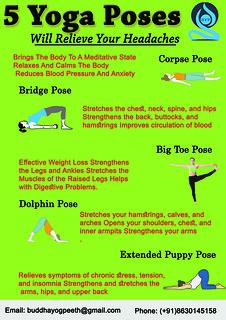 yoga for headached