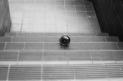 (Chris Hester) Tags: 1 11 manchester university stairwell clock