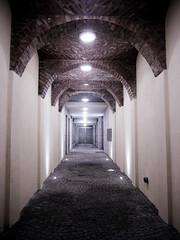 into the light (Darek Drapala) Tags: corridor night lumix light panasonic poland polska panasonicg5 warsaw warszawa praga zabkowska city urban architecture