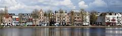 Weesperzijde (Hans Veuger) Tags: nederland thenetherlands amsterdam weesperzijde amstel riveramstel amsteldijk panorama stitch stadsarchief unlimitedphotos twop nederlandvandaag overamstelstraat nikon b700 coolpix