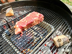 2019 088/365 3/29/2019 FRIDAY - Steak Night (_BuBBy_) Tags: 88365 grilling wood apple charcoal grill weber strip ny night steak friday 3292019 days 365days 365 88 2019